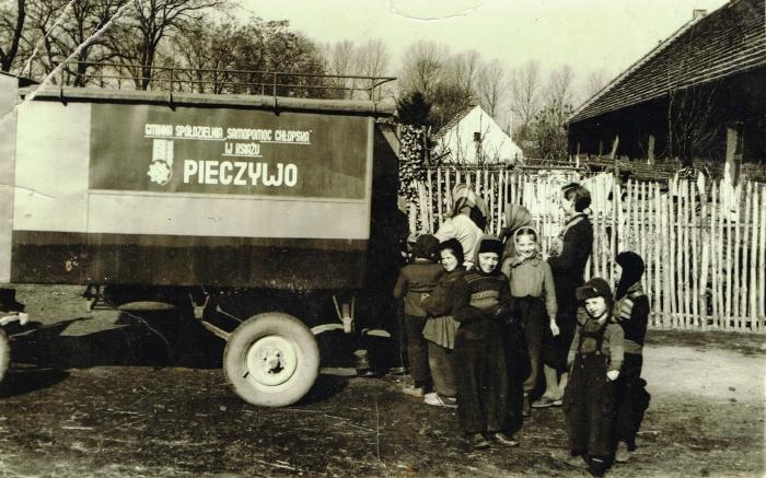 Sprzedaż obwoźna, zdjęcie: archiwum prywatne