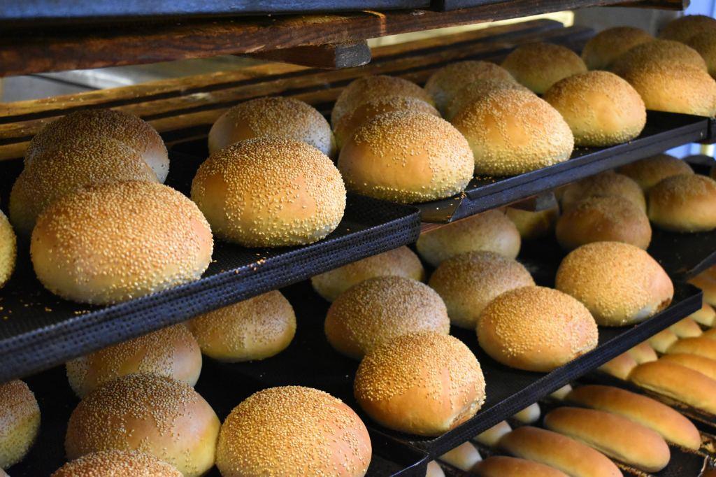 Bułki do hamburgerów Piekarnia Książ