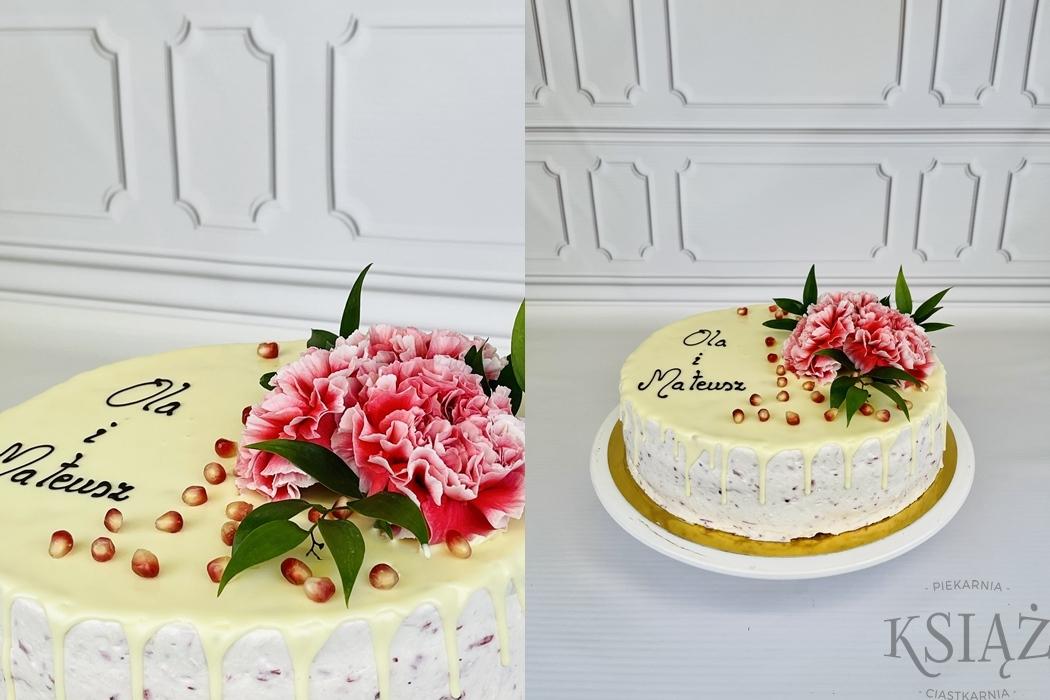 Tort weselny W028