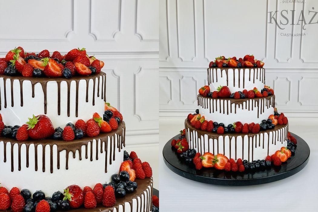 Tort weselny W029