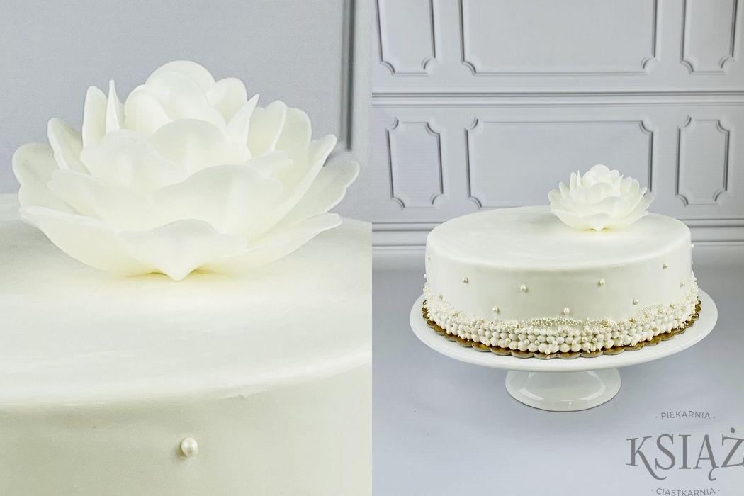 Tort kwiat P059