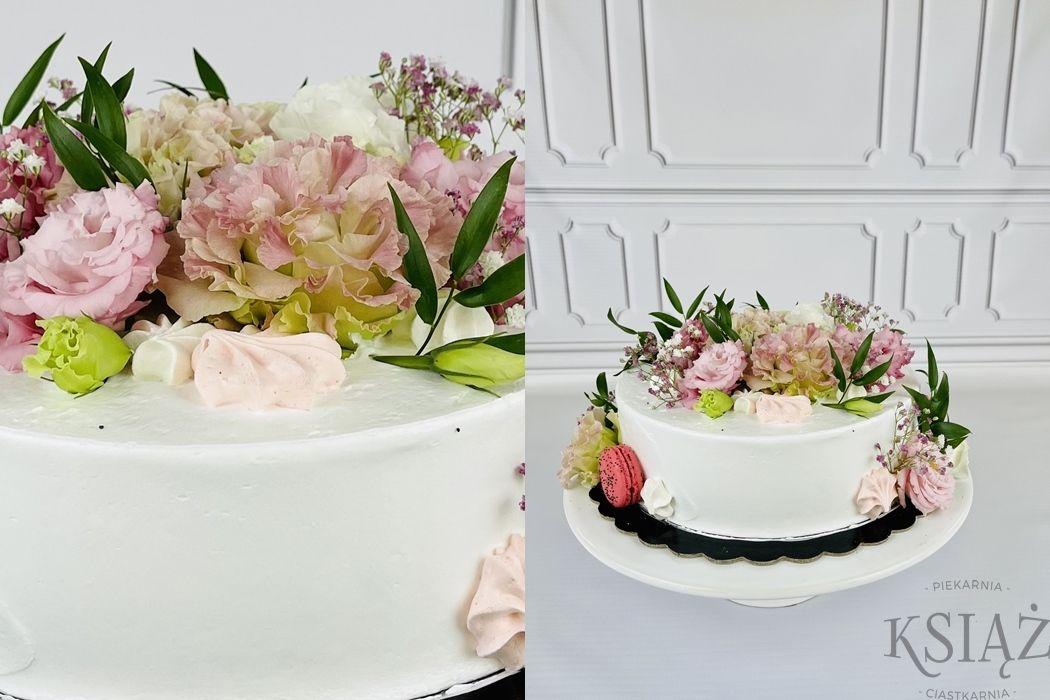 Tort kwiaty P075