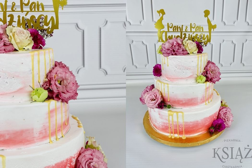 Tort weselny W033