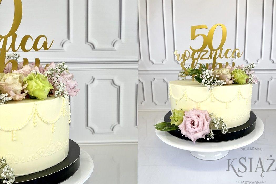 Tort weselny W038