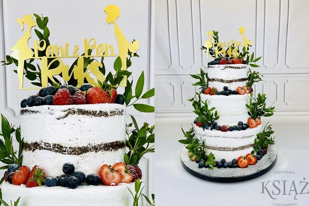 Tort weselny W030