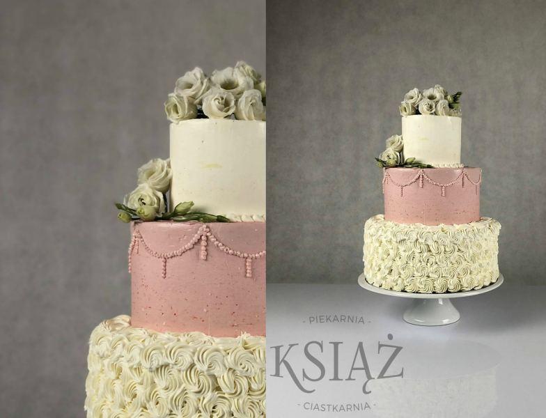 Tort weselny W013