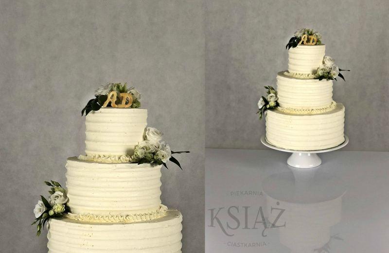 Tort weselny W012