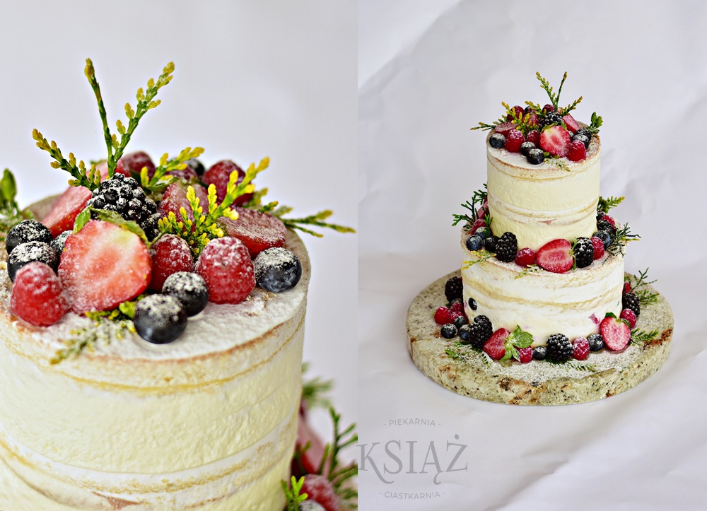 Tort weselny W020