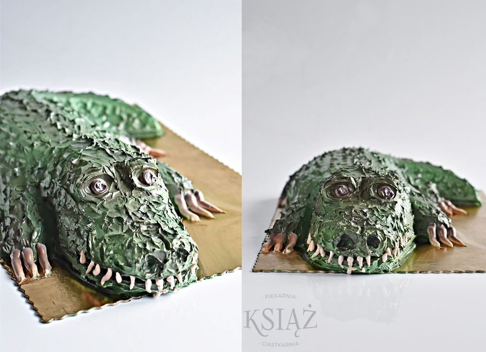 Tort aligator S035