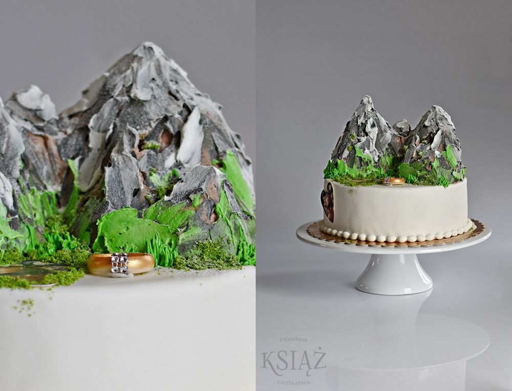 Tort z górami P054